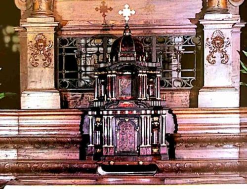 Gli altari lignei del santuario